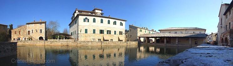 Bagno vignoni pienza borghi medioevali toscana italia agriturismo hotel - Hotel terme bagno vignoni ...