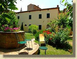 Affittacamere il giardino segreto pienza toscana camere